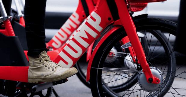 Le service de vélo électrique d'Uber s'invite en France l'année prochaine — Jump