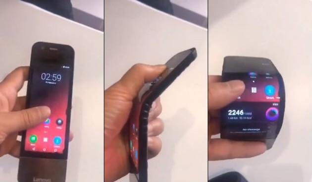 Smartphone pliable : Lenovo voudrait voler la vedette à Samsung