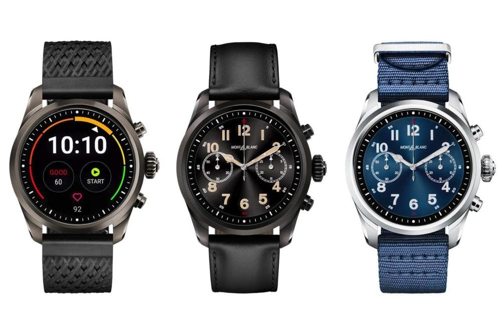 MontBlanc Summit 2, la première montre Wear OS avec Snapdragon Wear 3100 coûte 995 euros