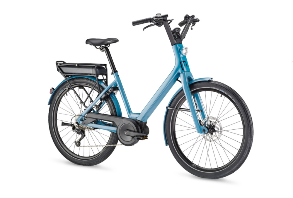 «Le Lundi26 est le parfait exemple du vélo de ville: guidon relevé et porte-bagage»