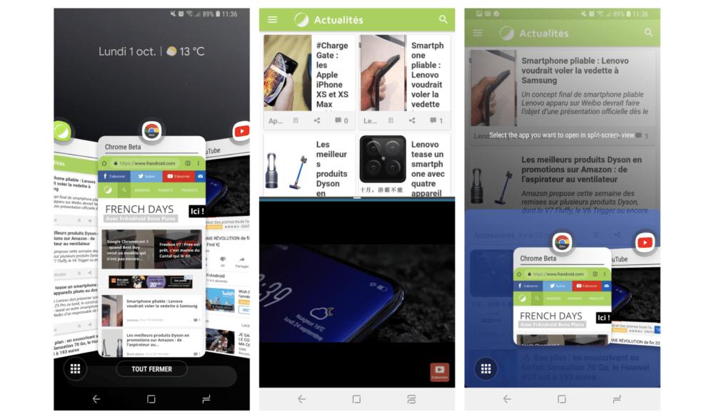 Testez le nouveau multitâche des smartphones Samsung Galaxy