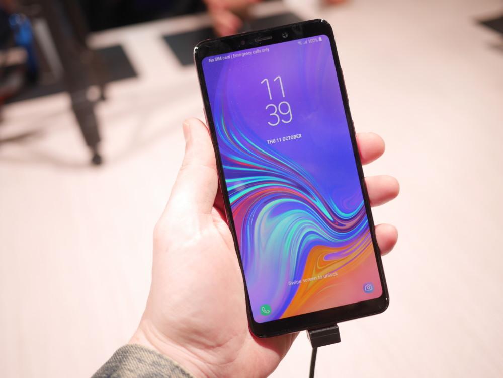 Galaxy A90 : Samsung préparerait un milieu de gamme avec lecteur d'empreintes dans l'écran