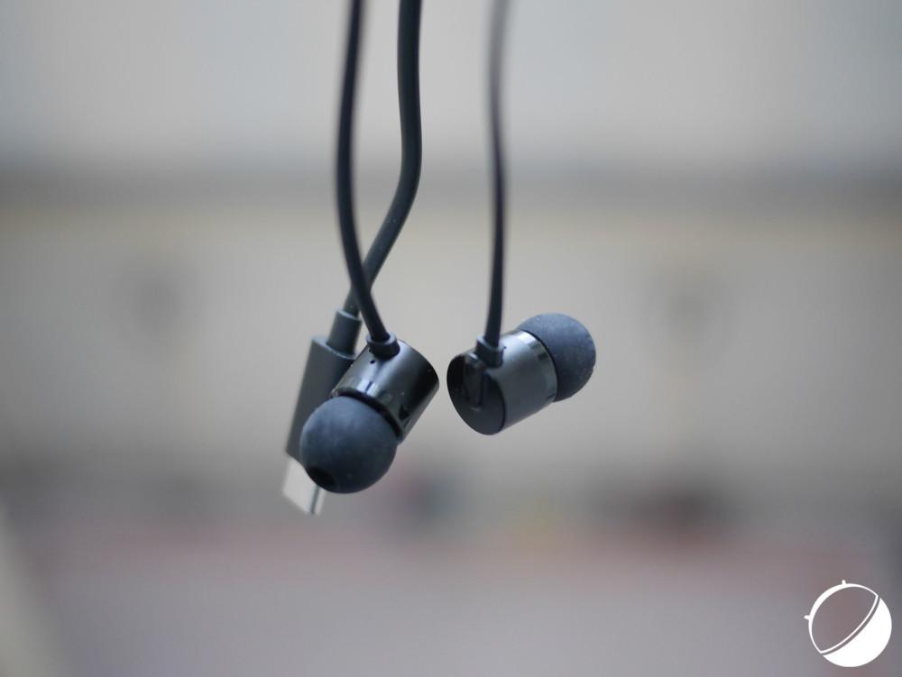 Les écouteurs Bullets Type C