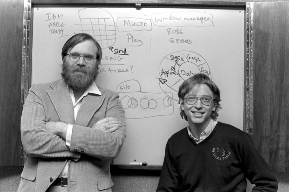 Paul Allen et Bill Gates