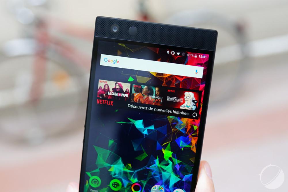 6548337be496 Comme le premier modèle, le Razer Phone 2 développe une puissance de son  tout simplement imbattable sur le marché.
