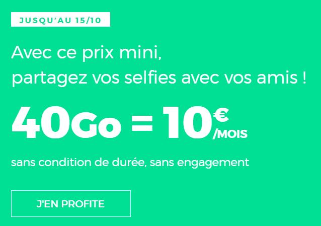 Dernier Jour Le Forfait Mobile Red By Sfr Avec 40 Go De 4g