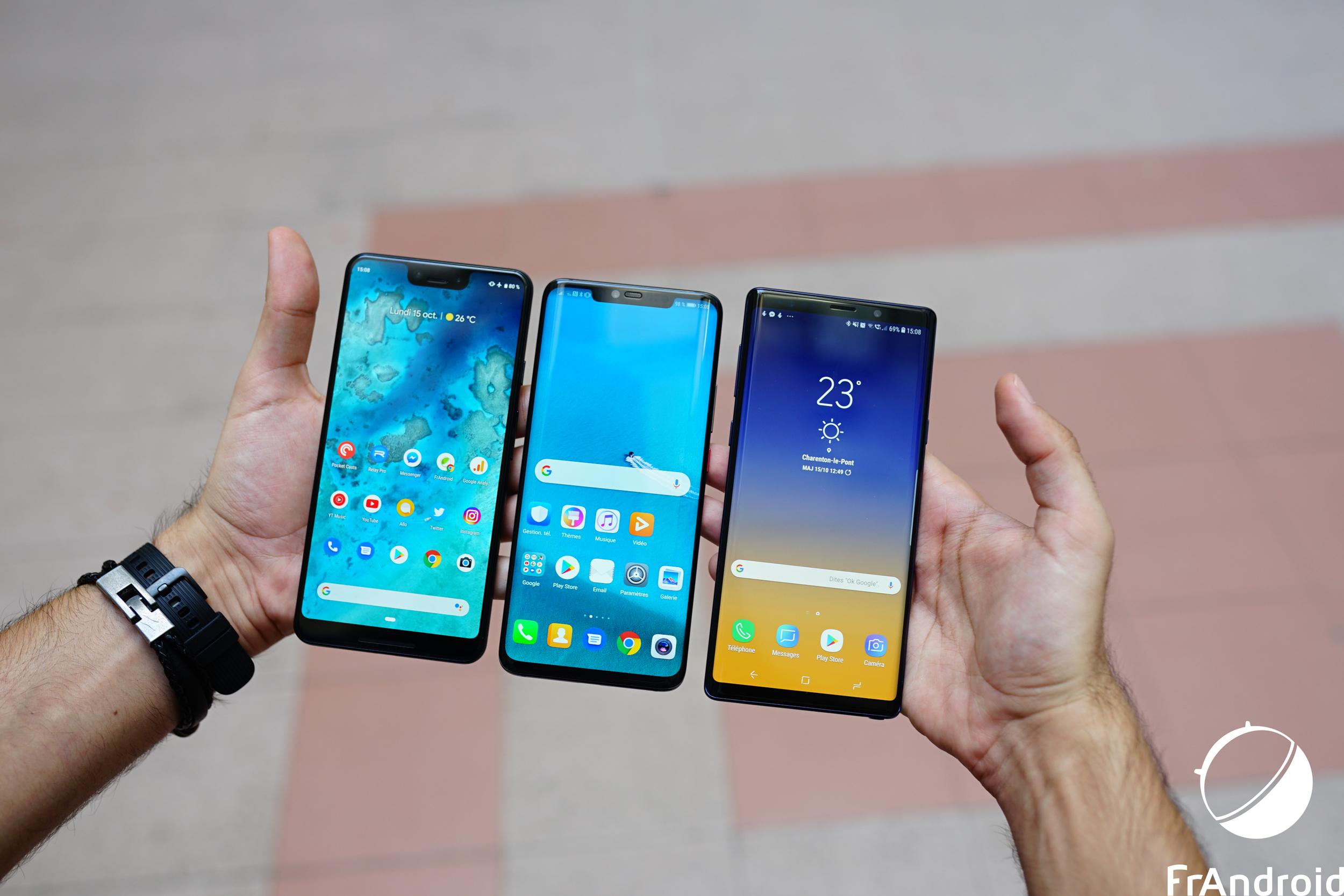 Comment sont testés les smartphones chez Frandroid ?