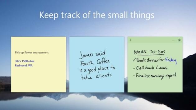 Sticky Notes : les post-its de Windows 10 arrivent sur Android et iOS