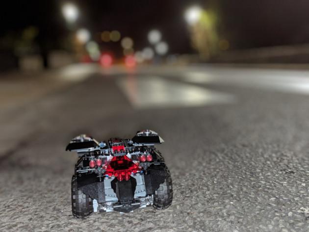 Test du Lego DC Comics Super Heroes Batmobile radiocommandée (76112)