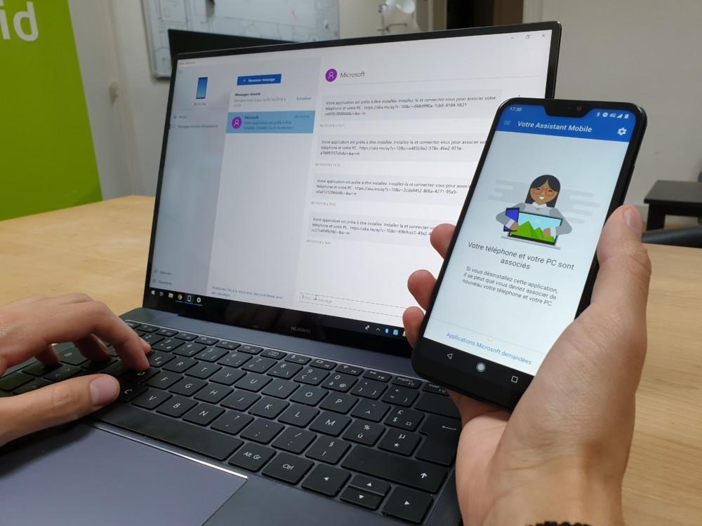 Windows 10 : comment synchroniser les photos et les messages de son smartphone Android