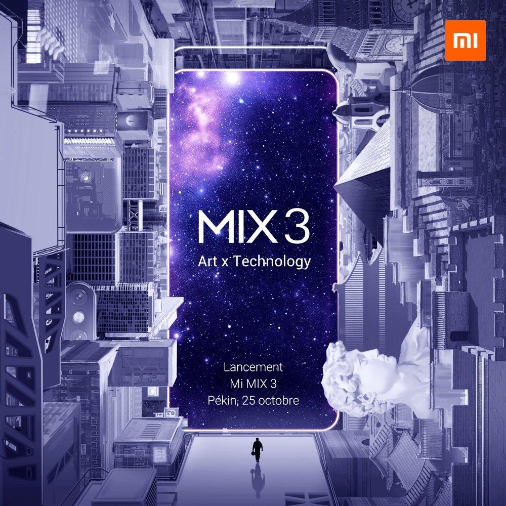 Xiaomi Mi Mix 3 : caractéristiques, date de sortie et prix