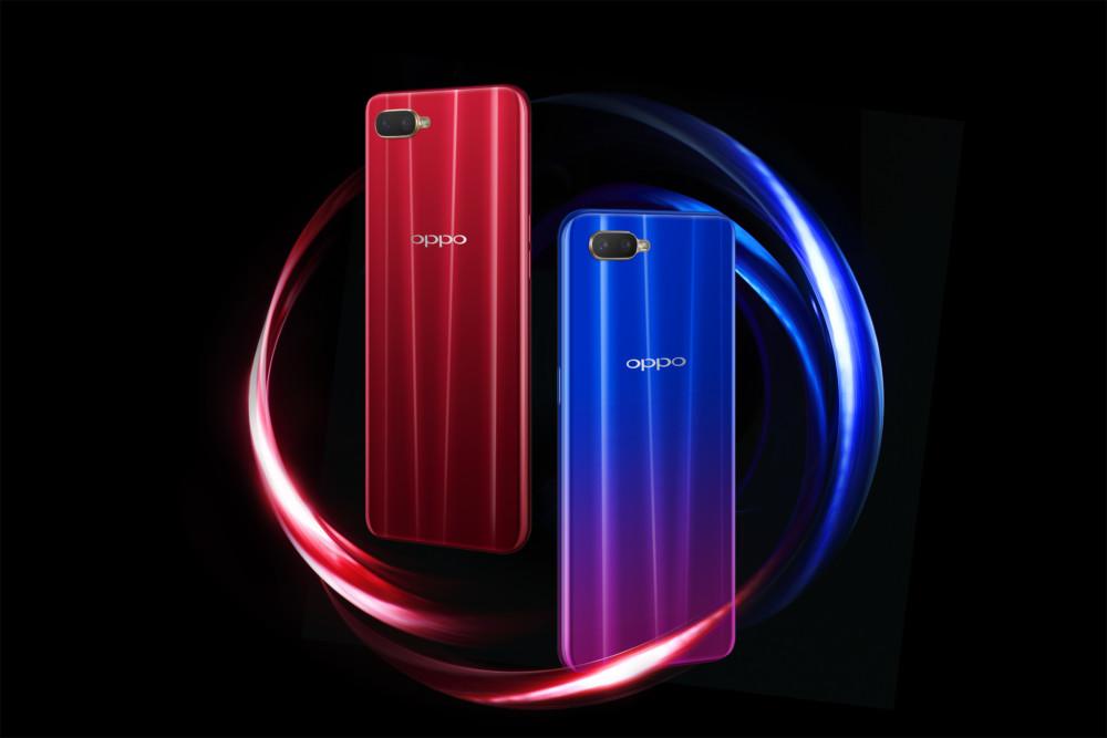 Les deux coloris du OPPORX17 Neo.