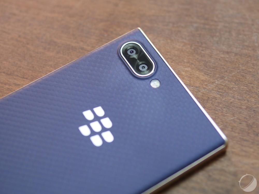 Ici le BlackBerryKEY2, que nous avions eu l'occasion de tester en 2018