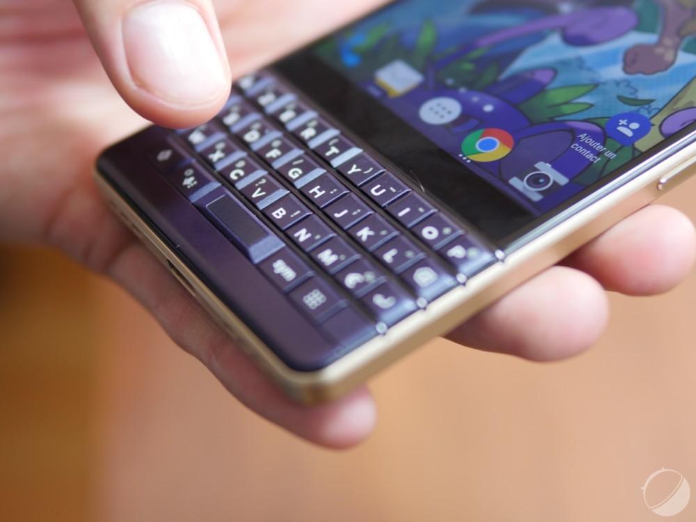 BlackBerryKey2 LE pour illustration