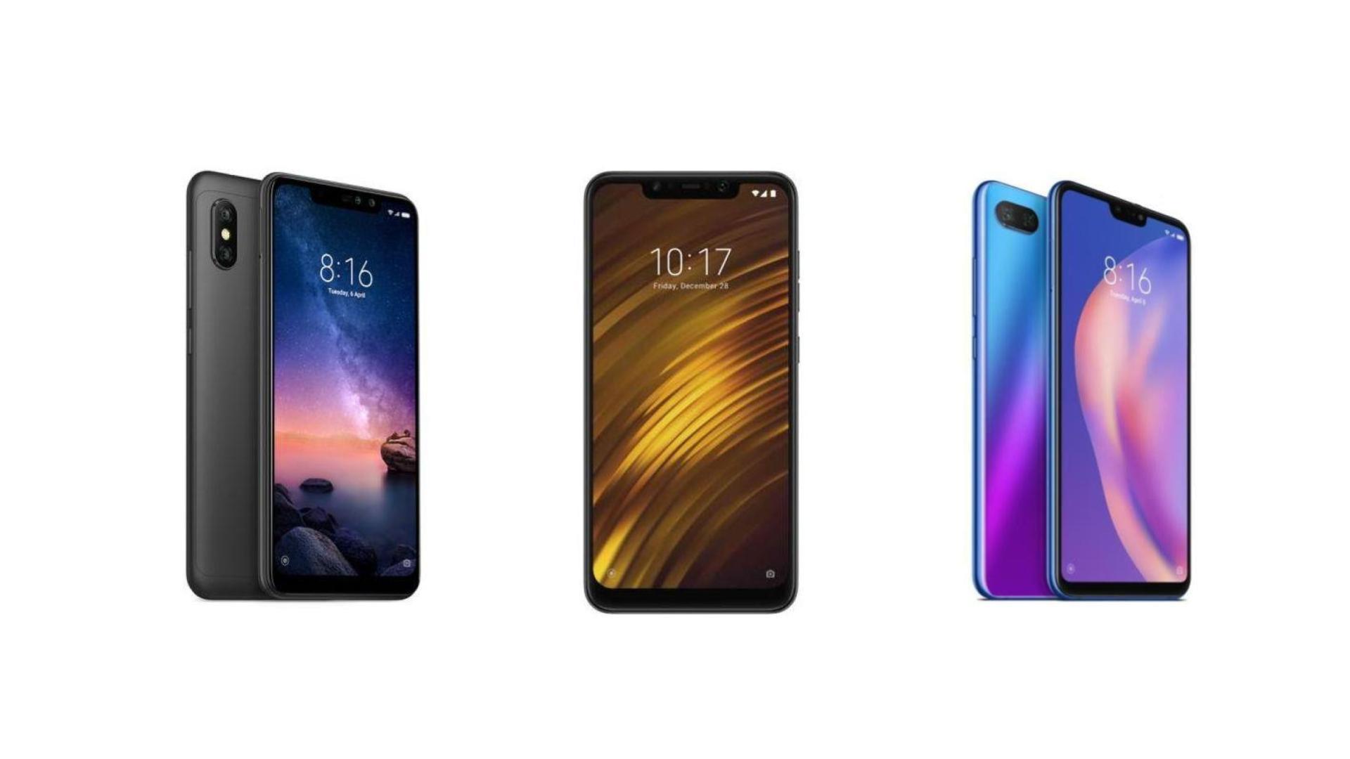 Xiaomi Mi 8 Lite A 235 Euros Xiaomi Redmi Note 6 Pro A 185 Euros Et