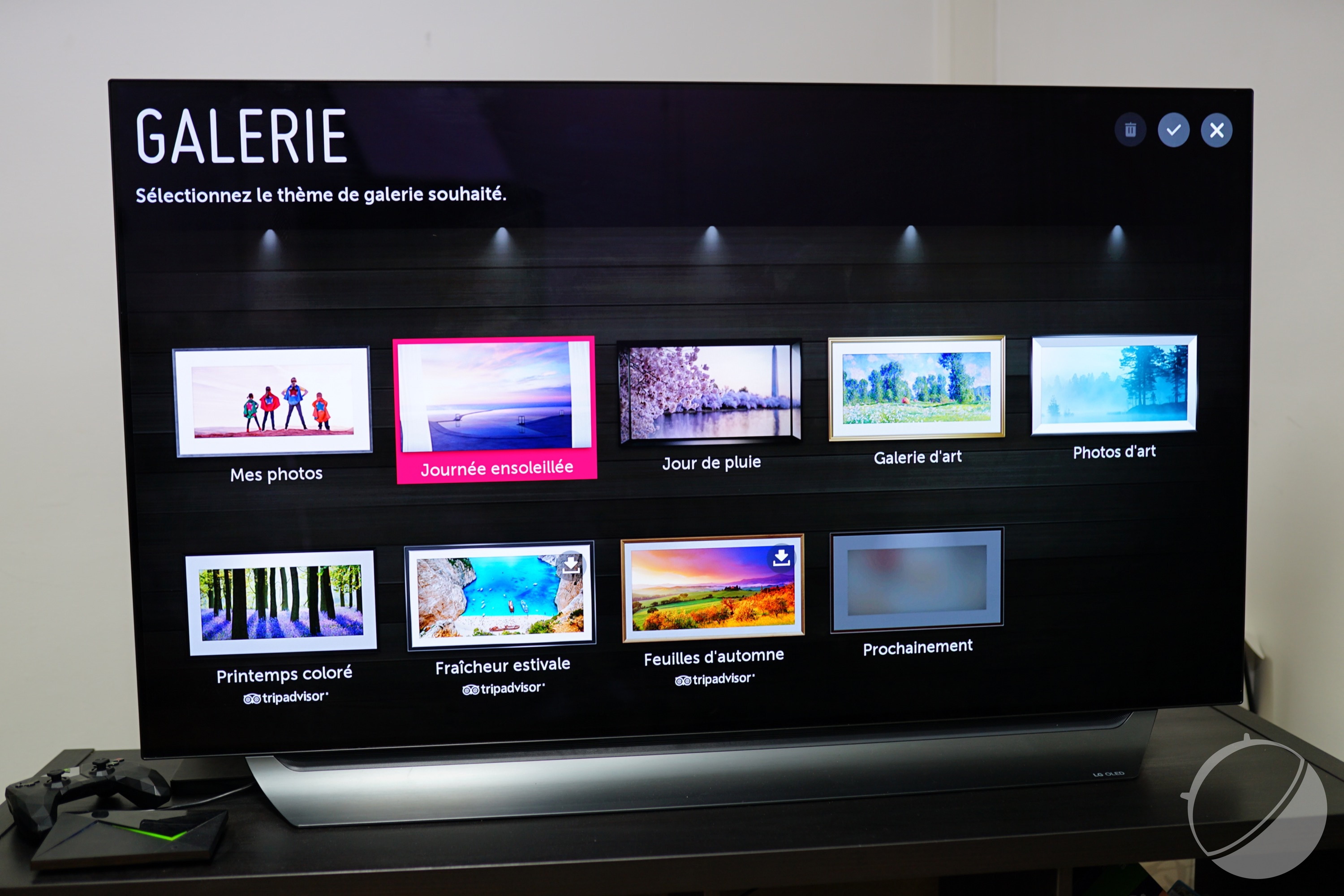 Test LG C8 : notre avis complet - Android TV - FrAndroid