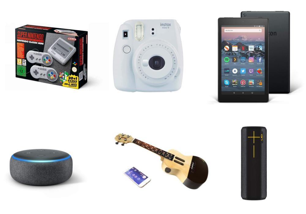 Nos idées cadeaux Geek et High Tech à moins de 100 euros pour Noël