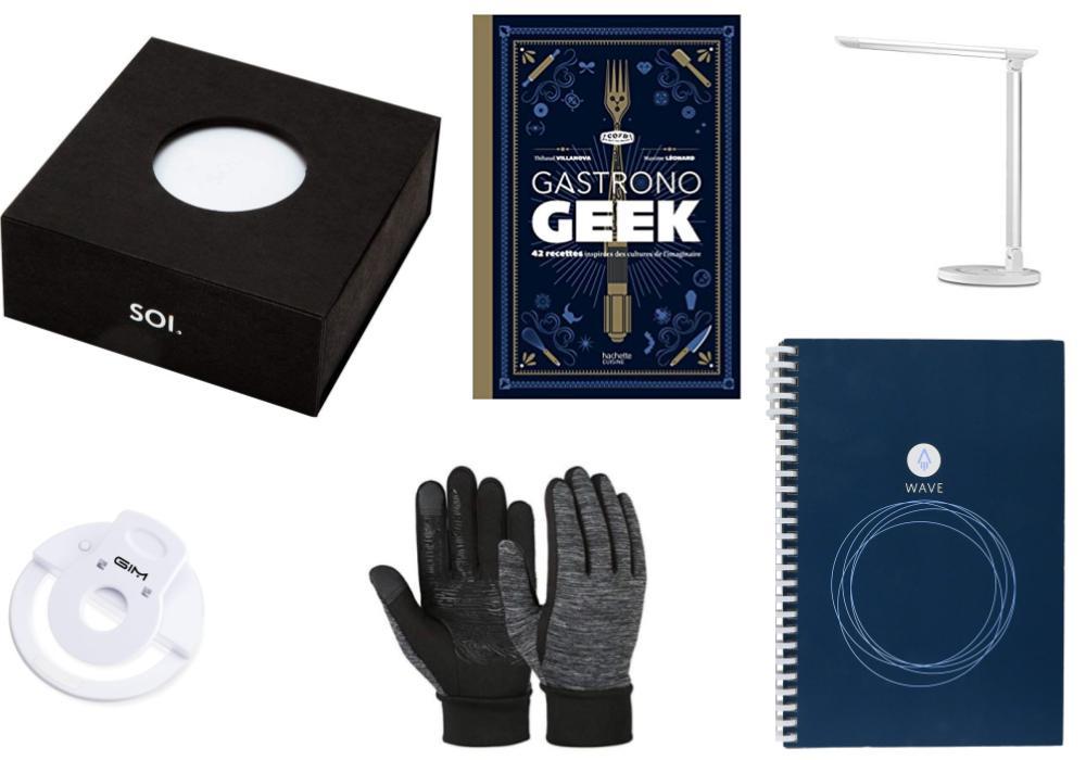 Notre guide d'achat de Noël avec des cadeaux high tech et geek à