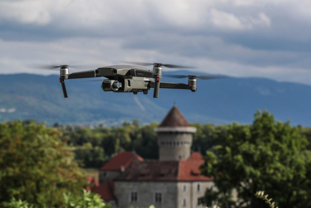 Le drone DJI Mavic 2 Pro
