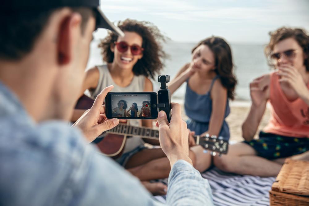 DJI Osmo Pocket : la caméra 4K stabilisée discrète pour les vacanciers et les vlogueurs en herbe