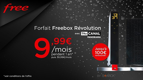 l 39 abonnement freebox r volution encore moins cher avec une vente priv e frandroid. Black Bedroom Furniture Sets. Home Design Ideas