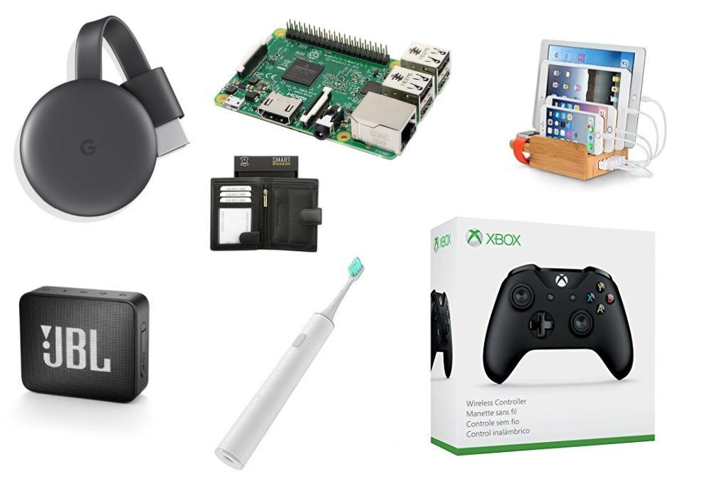 Nos idées cadeaux geek et high tech à moins de 60 euros pour Noël 2018