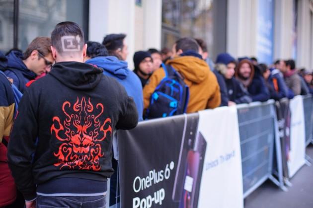 Un fan hardcore de OnePlus (Image: OnePlus France)