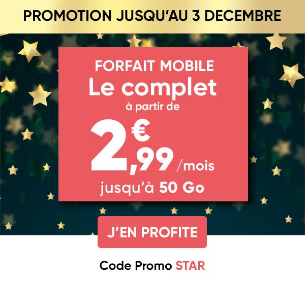 Bon plan : profitez du forfait mobile Prixtel 5 Go de 4G à seulement 2,99 euros par mois