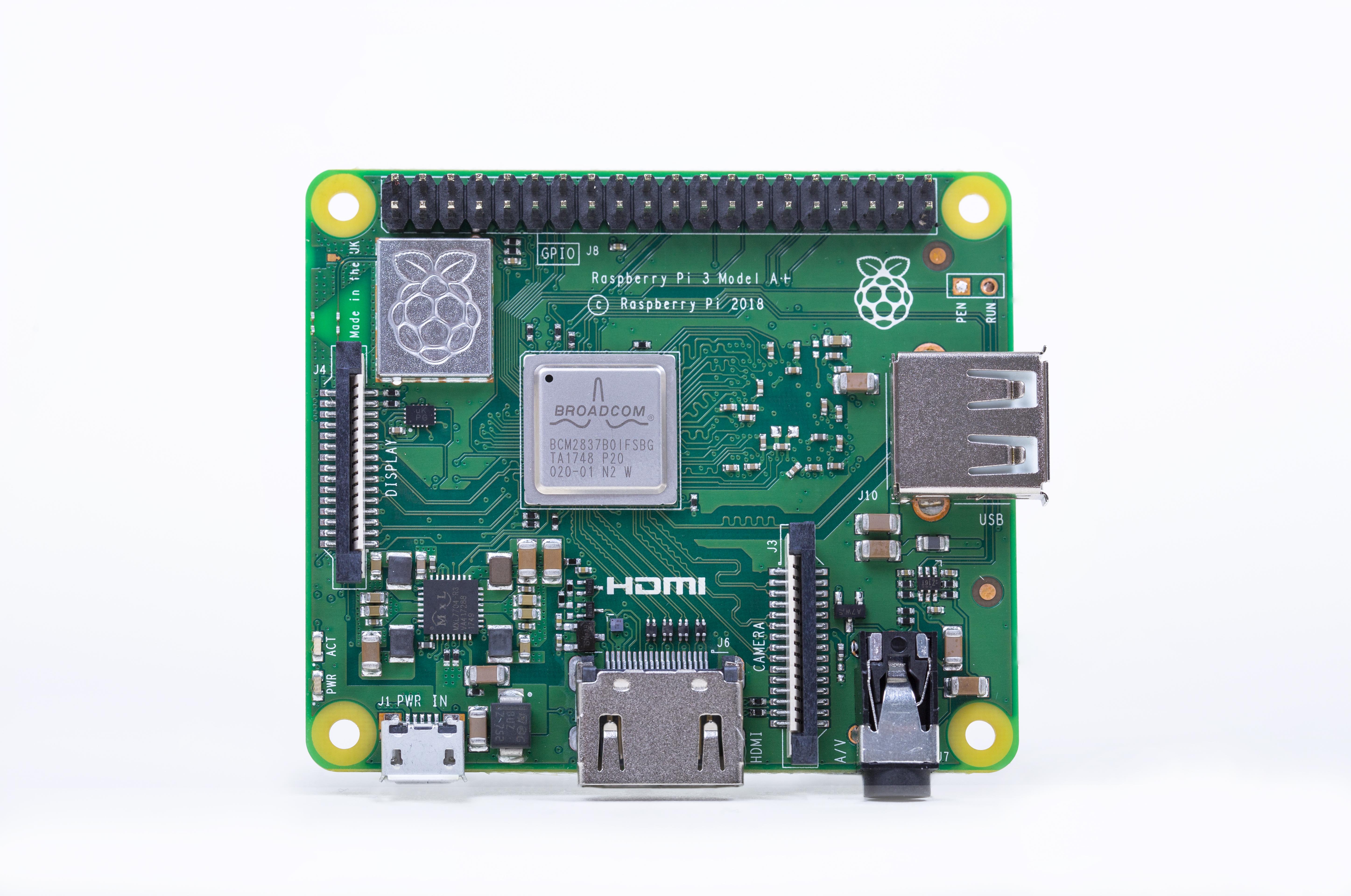 Raspberry Pi 3 A+ : plus petit, moins cher, mais tout aussi rapide