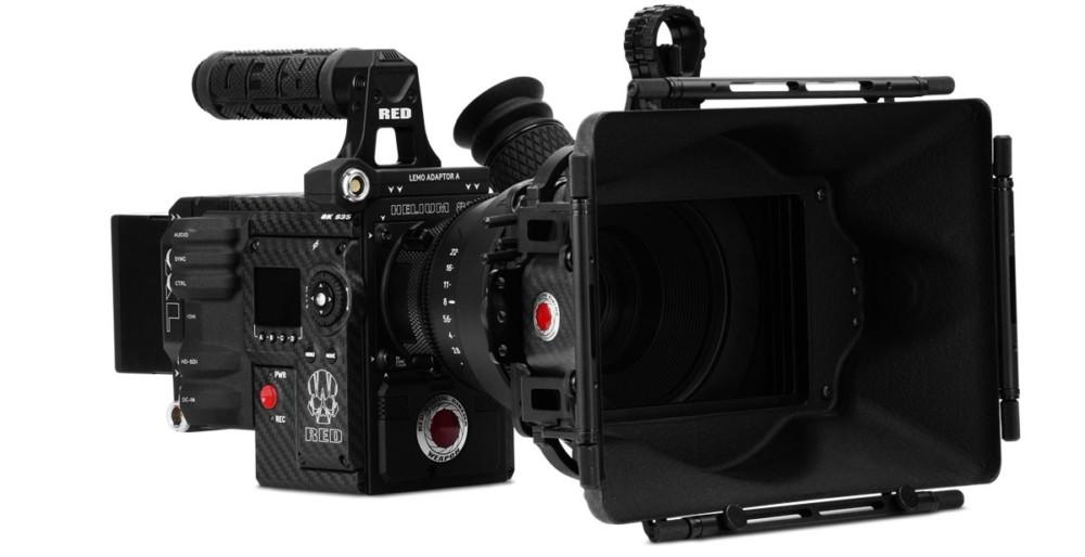 La caméra RED Helium 8K