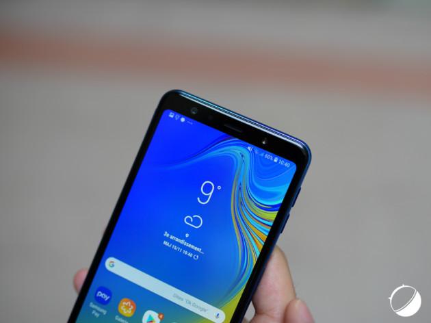 Samsung GalaxyA7 (2018) pour illustration