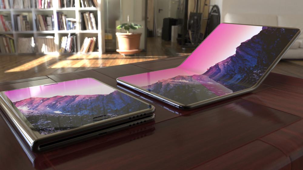 Concept de smartphone pliable – Crédit image: StuffBoxNews