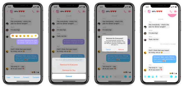 Facebook Messenger : comment supprimer vos messages envoyés définitivement (Android et iOS) ?
