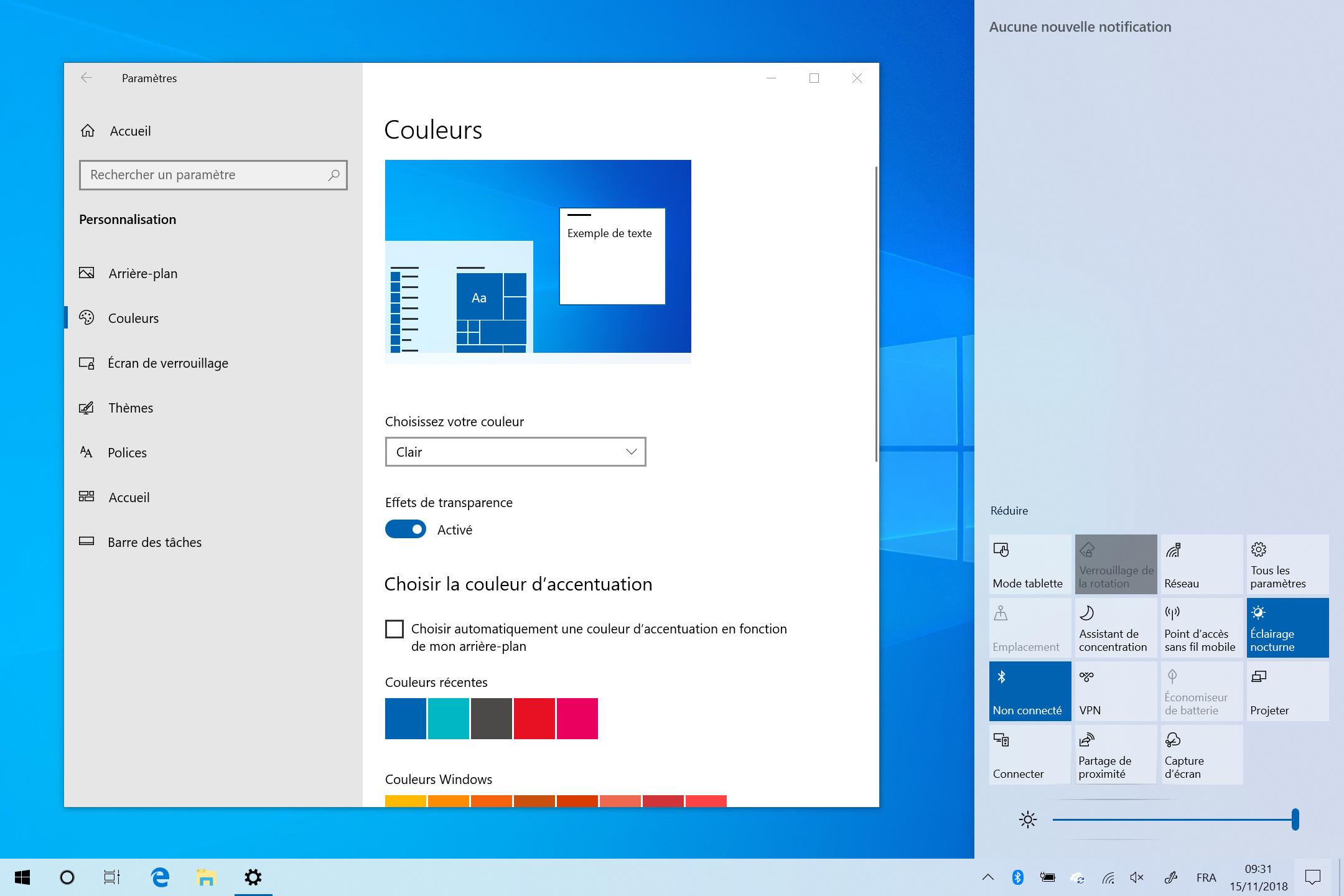 Windows 10 : un nouveau thème clair et des nouveautés pour Windows Update en préparation