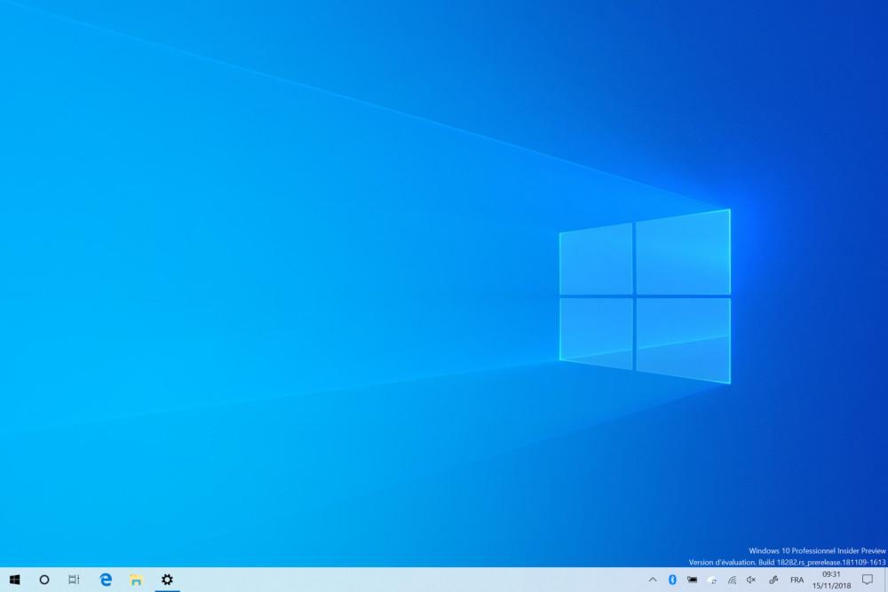 À contre-courant, Microsoft dévoile un thème clair pour Windows 10
