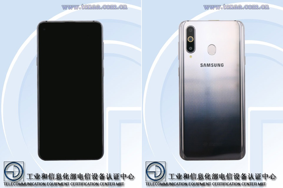 Samsung Galaxy A8s: representaciones y algunas características reveladas por el TENAA