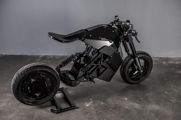 Cette séduisante moto électrique est fabriquée par une entreprise française