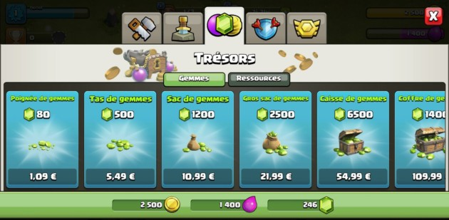Clash of Clans : payez vos gemmes moins cher pour profiter des dernières nouveautés