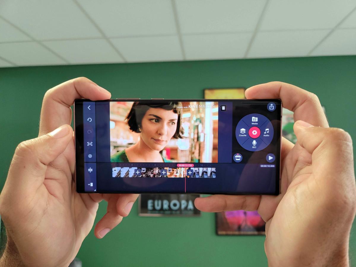 Application montage vidéo