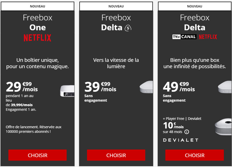 Freebox Delta : Free reajuste son offre suite à la mise en demeure de l'UFC-Que Choisir