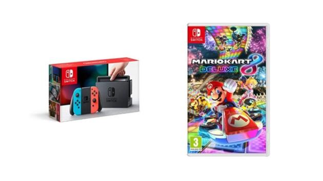 🔥 Bon Plan : la Nintendo Switch avec Mario Kart 8 Deluxe à 295,95 euros sur Amazon