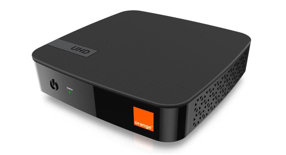 La box Orange commercialisée en Espagne est sous Android TV