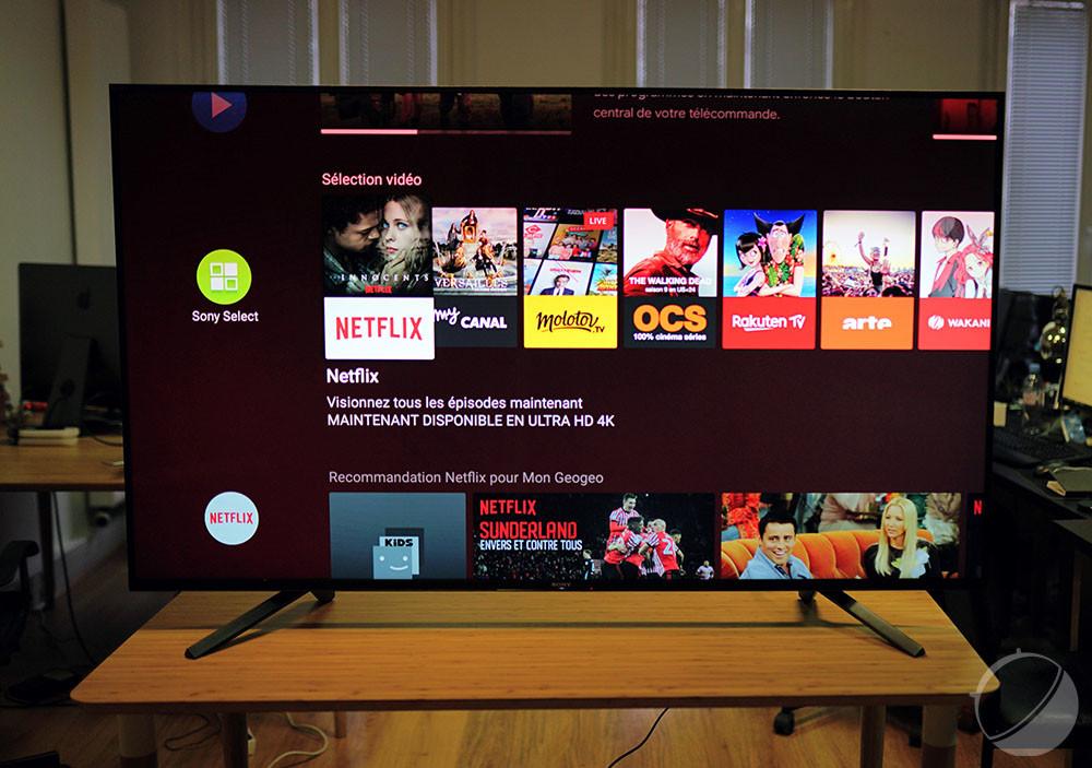 Plusieurs chaînes sont proposées sur Android TV