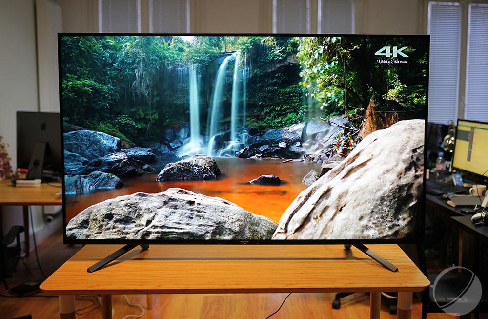 Le téléviseur Sony ZF9