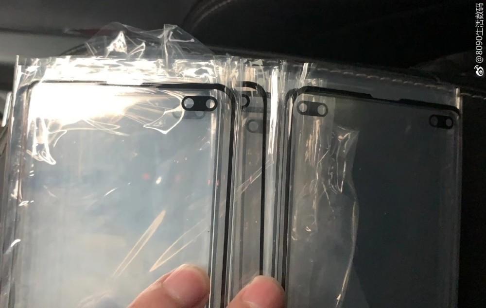 Samsung Galaxy S10+ : son écran se dévoile avec ses deux trous pour l'appareil photo