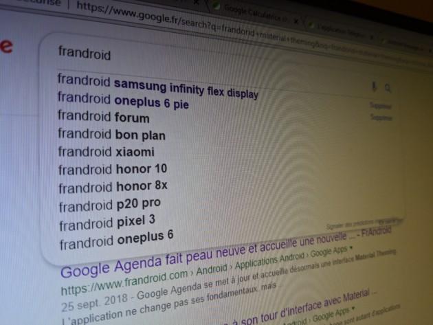 Google passe son moteur de recherche au nouveau design Material Theming