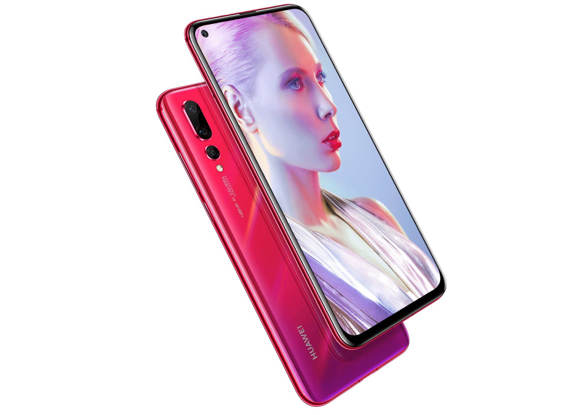 Huawei Nova 4 Officialise Images Caracteristiques