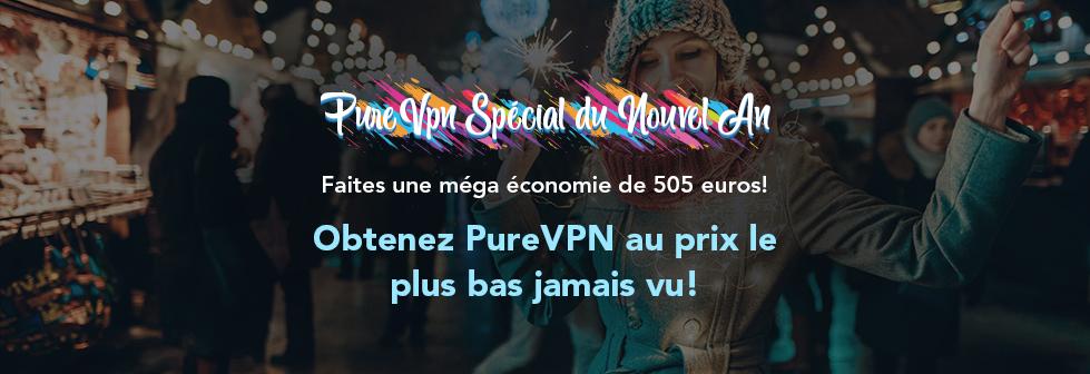 Pour fêter la nouvelle année, offrez 5 années de tranquillité à votre vie privée avec PureVPN