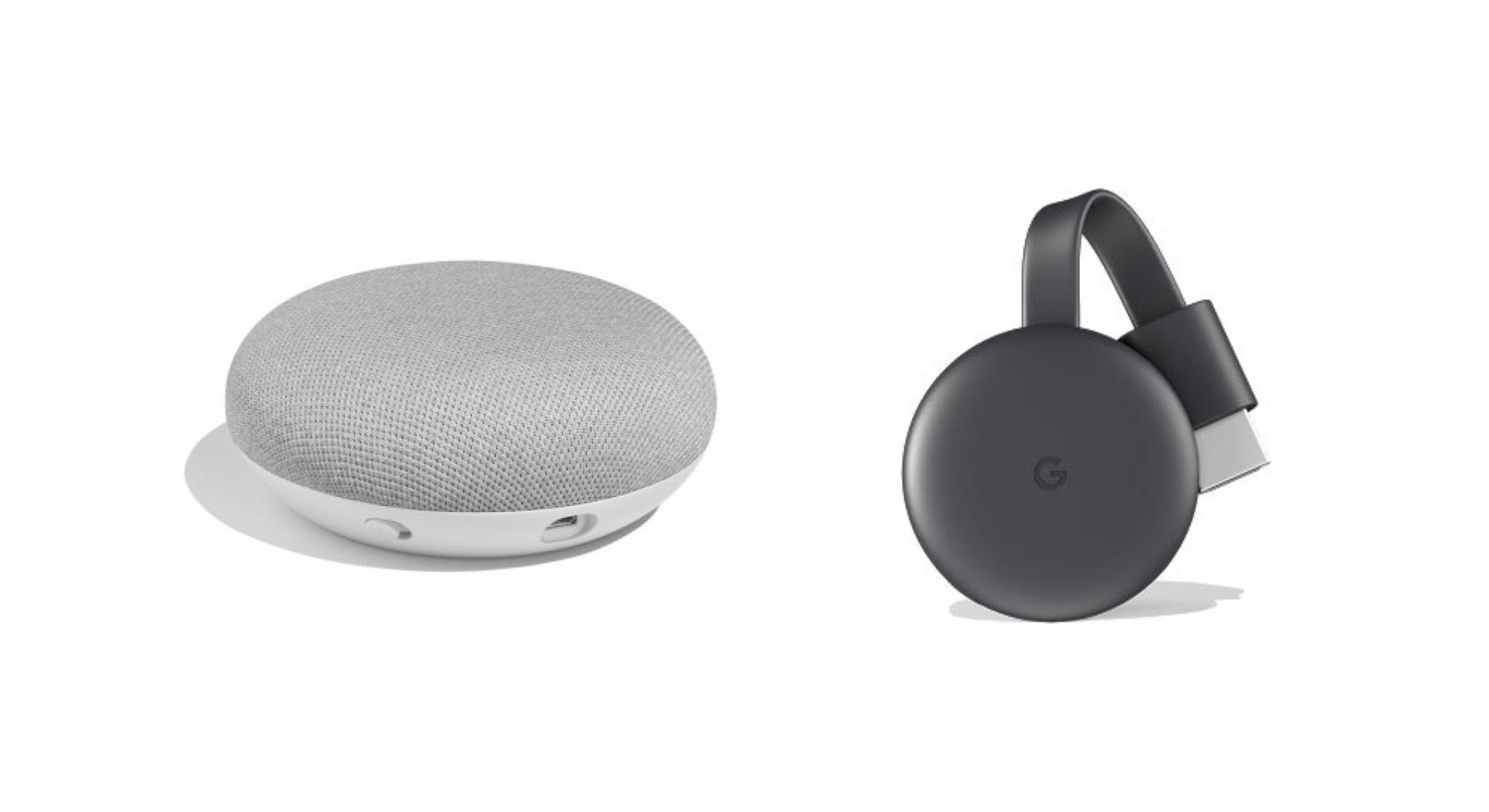 google home et chromecast