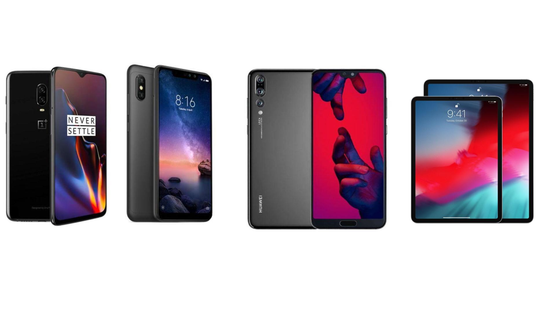 Oneplus 6t A 465 Euros Huawei P20 Pro A 579 Euros Ou Redmi Note 6